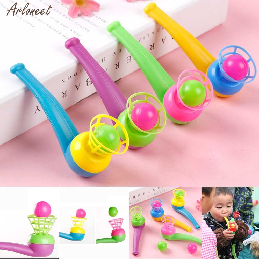 Blow Pipe & Balls - Pinata Toy Loot/Party Bag Fillers Wedding/Kids Hot Sale Outdoor Toy  interactive rubber balls for kid 2019
