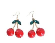 Design fashion luxury cherry earrings eardrop wholesale sell like hot cakes