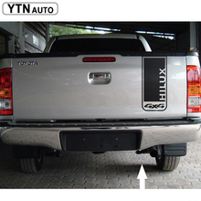 car sticker 1PC tail gate stcker stripe graphic Vinyl 4X4 off road car accessories decals custom for TOYOTA HILUX revo  vigo все цены