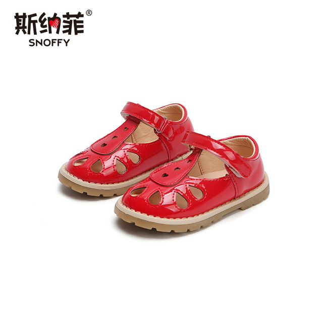 2018 spring and summer new girls hollow love sandals in children slip  casual beach shoes women s shoes b65094d26