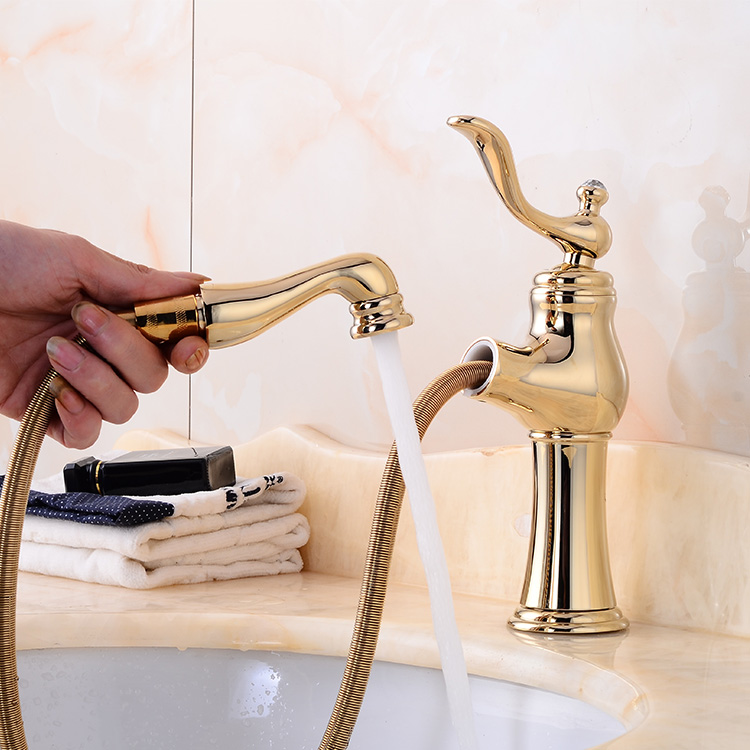 Deck mount mixer hot and cold big head Basin faucet XRA-80010