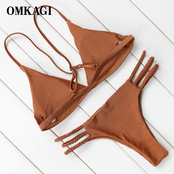 Hot Sexy Brazilian Bikini 2018 Swimwear Women Swimsuit Bathing Suit Biquini Bikini Set Bandage Swim Suit Maillot De Bain Femme 1