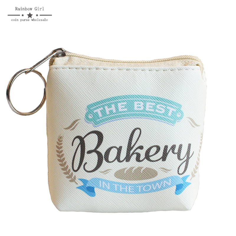 2017 new arrival coin purses bakery wallet child girl women change purse lady zero wallet coin bag promotion gift