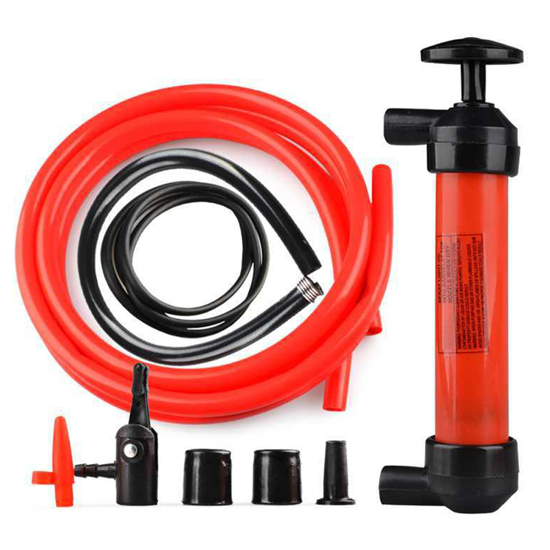 Manual Oil Pump 2-in-1 Pump, Transfer Oil Water And Inflate New Arrivals