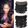 8A Cheap Mongolian Lace Frontal Closure 100%Unprocessed Human Hair Full Frontal Lace Closure 13x4 Body Wave Lace Frontal Closure