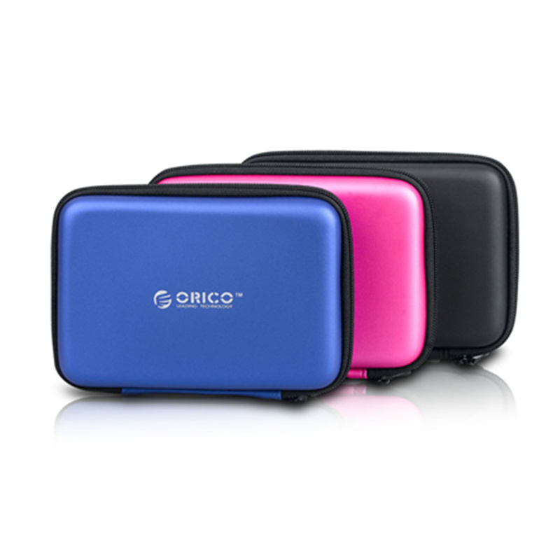 """ORICO 2.5"""" HDD Case Protect Bag box for Seagate Samsung WD Hard Drive Power Bank USB Cable Charger External Hard Disk pouch Case 1"""