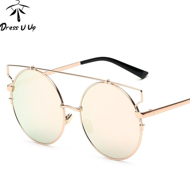 Dressuup moda recubrimiento Gafas de sol mujeres marca diseñador ...