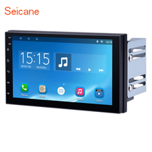 Seicane Android 6 1 Double Din Universal font b Car b font Stereo with Quad core