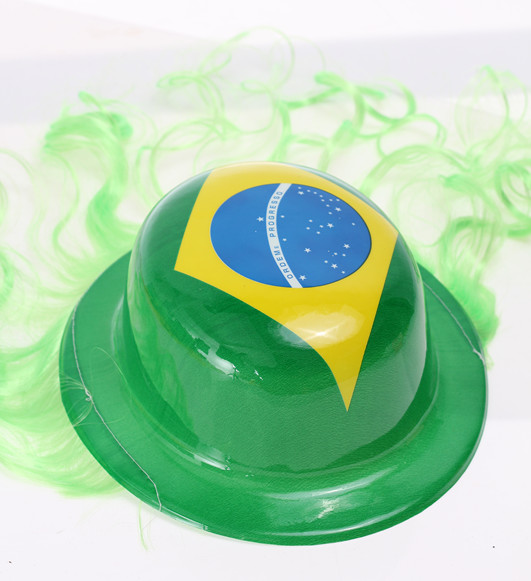 2016 new products pvc hats for brazil festival decoration for New home products 2016