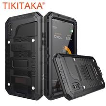 Doom Armor Waterproof Shockproof Metal Case + Silicone Beschermende Telefoon Gevallen Voor iPhone X XR XS Max 8 7 6 6 S Plus Cover