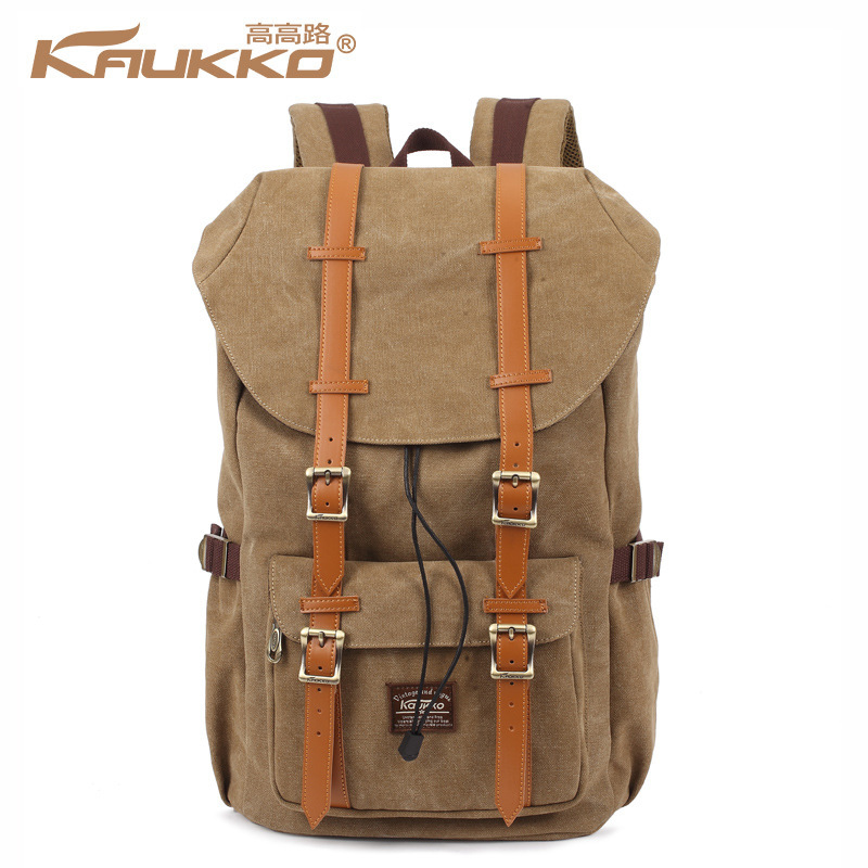 Kaukko Canvas Backpacks Men Travel Mochila School Backpack Skull Skateboard Skate Bolso Male Sac Bag Youth Laptop Bags #2
