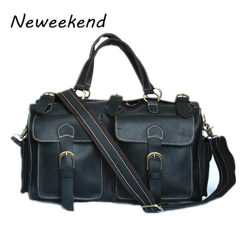Mens travel bags,luggage,tote,handbas,genuine leather,cowhide,brown color,vintage,free shipping,new,duffle gym bags,8111