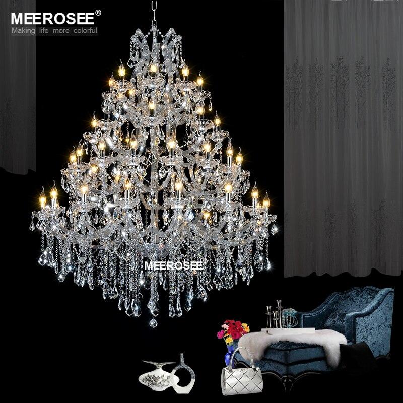 Hatalmas kristálycsillár-világítótestek a Hotel - Beltéri világítás - Fénykép 2