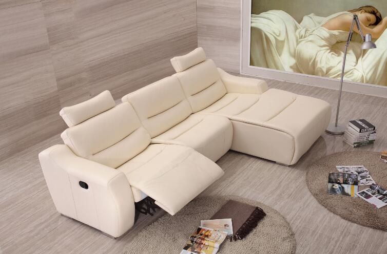 Sofas for living room leather corner sofa Recliner leather sofa set with genuine leather & Leather Corner Recliner Sofa Promotion-Shop for Promotional ... islam-shia.org