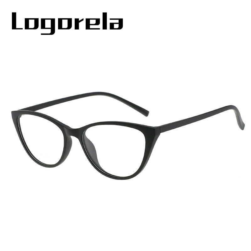 Eyeglasses Frame Women  Eye Glasses Cat Eyewear Plastic Titanium Transition Fashion Accessories 2018