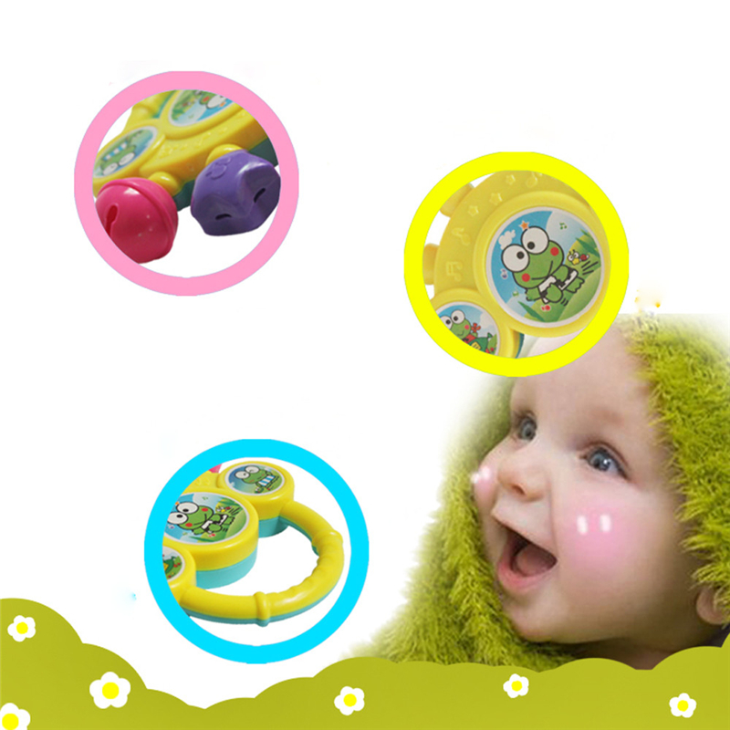 2018 New Cutely Baby Bell Toy Hand On The Toy Baby Birthday Gift For Baby Educational Development Enjoyable Funny Drop Shipping