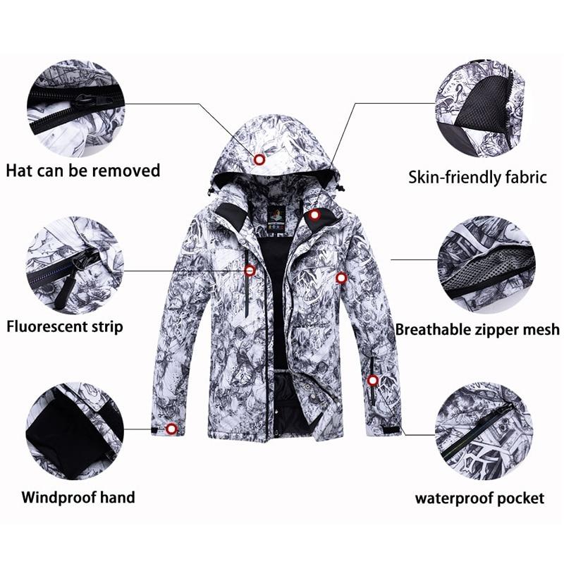 Arctic Queen 30 New Men Professional Snowboarding Jackets Skiing Clothing 10k Waterproof Windproof Winter Costumes Snow Jacke Snowboarding Sets