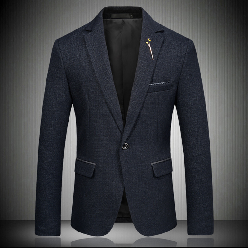 High-grade Men's Brand Blazers Casual Business Suit Jacket Amazon One-button Fashion Clothes Dropshipping Dance Wedding Top Coat