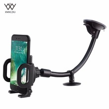 Car Mount Holder Universal Windshield Dashboard Flexible Long Arm Phone with One Touch for 3.5-6 inch