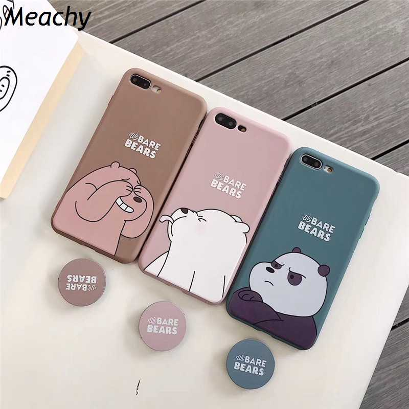 Leuke Cartoon Case Voor Huawei P30 P20 Pro Lite Mate 10 20 Pro P10 Plus Voor Huawei Honor Play Honor 20 10 9 8X Telefoon Case Houder