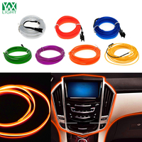 YWXLight 5M Waterproof LED Strip Light Neon Light 7 Color Flexible Neon Light Rope Controller For