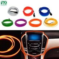 YWXLight 5 M Waterproof LED Strip Nhẹ Neon Ánh Sáng 7 Màu Linh Hoạt Rope Neon Ánh Sáng Điều Khiển Cho Xe Trang Trí Strips đèn