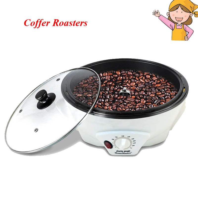 1pc Household Coffee Roasters 2016 New Durable Manufacturer Coffee Bean Roaster for Coffee Lovers SCR-301