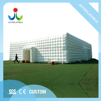 20LX15WX7HM PVC Inflatable Cube Tent For Outdoor Wedding Party Event