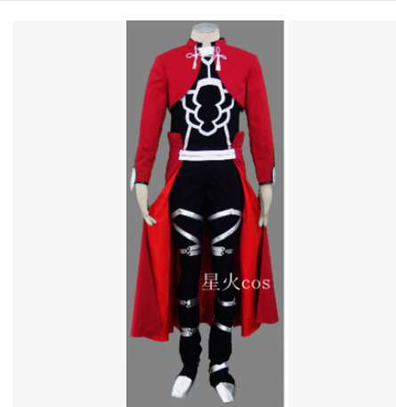 New Arrivel Fate Stay Night Archer Cosplay Red Mens Fate Stay Night Cosplay Costume
