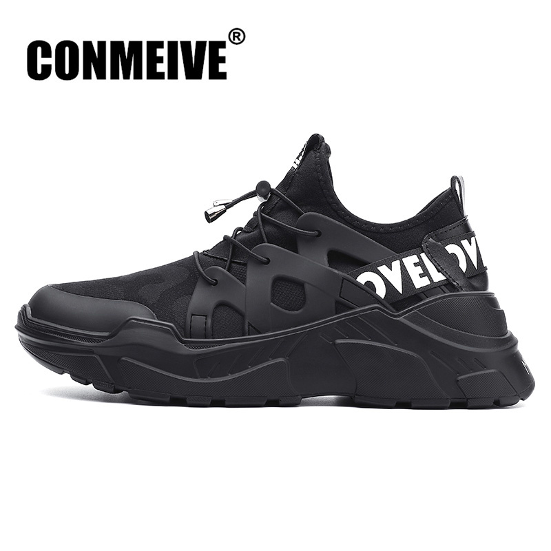 Fashion Light Men Casual Shoes Breathable Mesh Luxury Brand Designer Mens Shoes Outdoor Wear Resistant Male Adult Sneakers 36-48