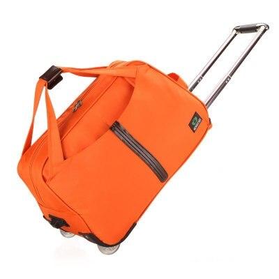 2017 방수 짐 가방 두꺼운 스타일 롤링 가방 트롤리 수하물 여성 여행 가방 가방과 바퀴-에서여행 가방부터 수화물 & 가방 의  그룹 1