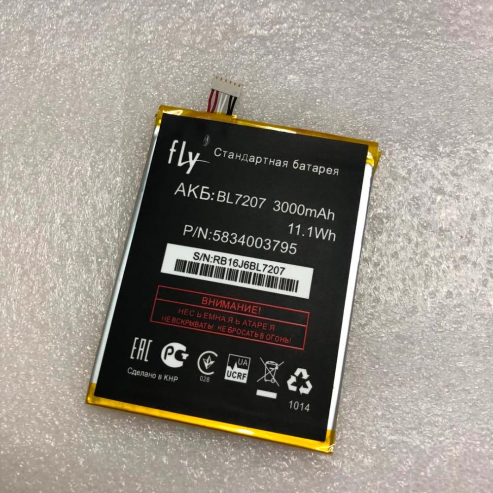2018 Новый 3000 мАч BL7207 Батарея для <font><b>Fly</b></font> IQ4511 IQ <font><b>4511</b></font> BL 7207 телефон Высокое качество Batteria литий-ионный аккумулятор батареи в наличии