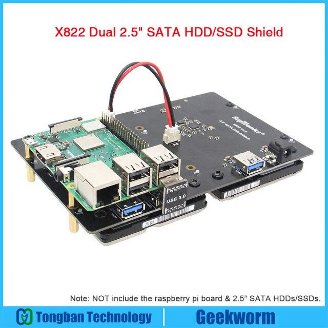 US $43 34 15% OFF Aliexpress com : Buy Raspberry Pi ROCK64 X822 Dual 2 5