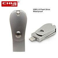 CHUYI I Flash Drive 8gb 32gb Mini Usb Metal Pen Drive 64gb Otg Usb Flash Drive