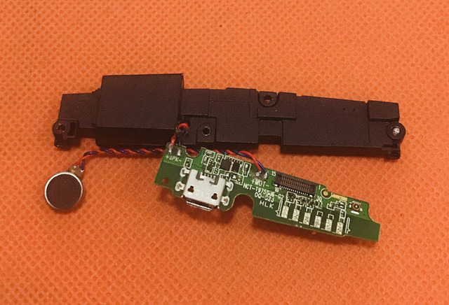 "Gebruikt Originele Usb Stekker Lading Board + Luidspreker Voor Oukitel K10000 Pro MTK6750T 5.5 ""Fhd Gratis Verzending"