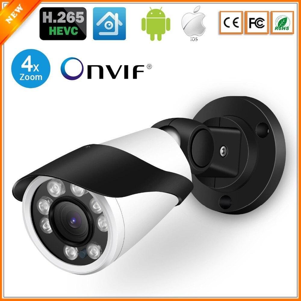 BESDER 4MP Ultra HD 4X Manual Zoom IP Camera H.265 Outdoor Waterproof CCTV Camera Motion Detect 30m Night Vision XMEye Onvif 2.0