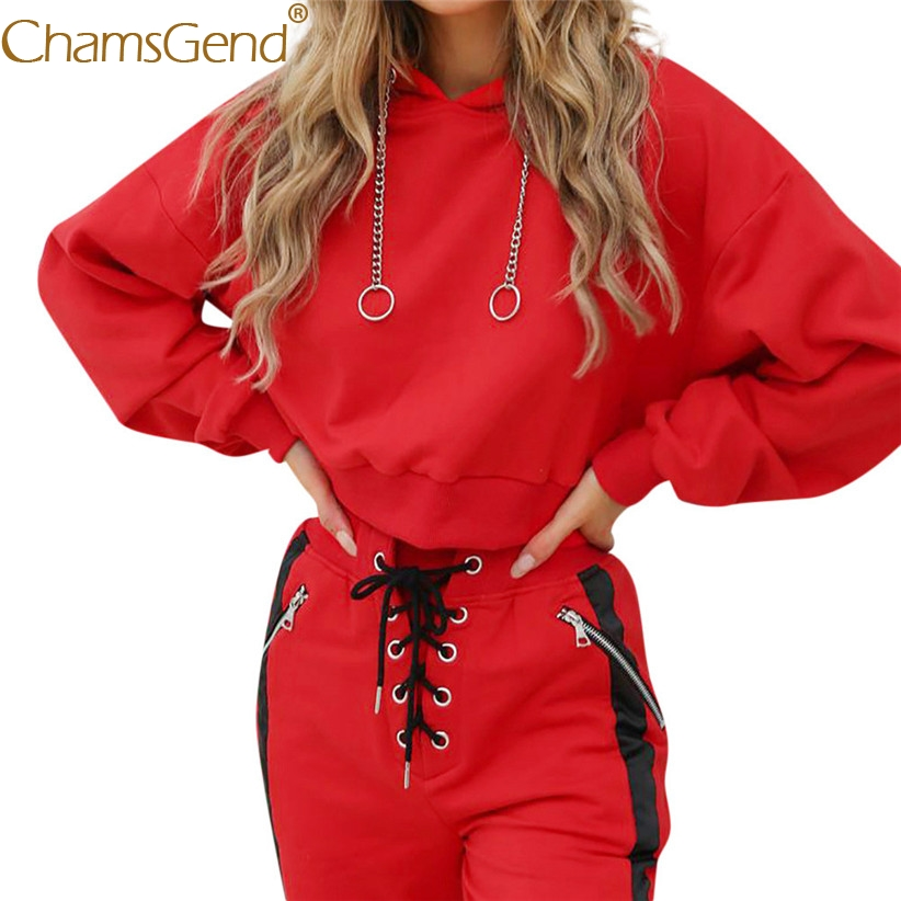 Free Shipping Fashion Red Coat Women Long Sleeve Pullover Hoodie