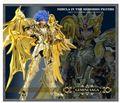 На складе БОЛЬШИЕ ИГРУШКИ Близнецы Сага душа золото Божественной броня Saint Seiya Миф Ткань EX SOG фигурку модели