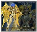 in stock GREAT TOYS Gemini Saga soul of gold  Divine armor Saint Seiya Myth Cloth EX SOG action figure model