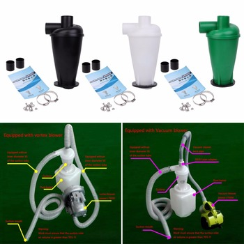 SKYMEN Cyclone Dust Collector Filter Turbocharged Cyclone With Flange Base Separator cyclone dust collect filter turbo charged cyclone with flange base separator vacuum cleaner household cleaning appliance u1je
