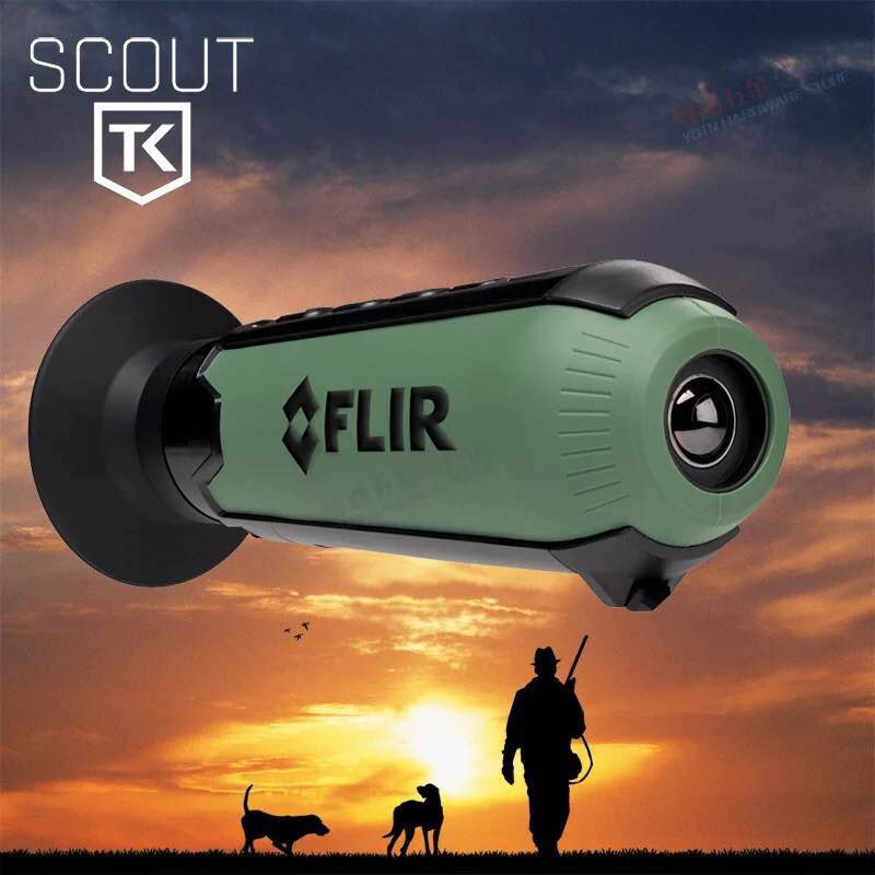 Free shipping Thermal imager observation night vision scope FLIR Scout TK 100 meters Anti-water hunting Thermal Imaging Scope flir c2 compact thermal imaging system thermal camera flir c2 infrared cameras