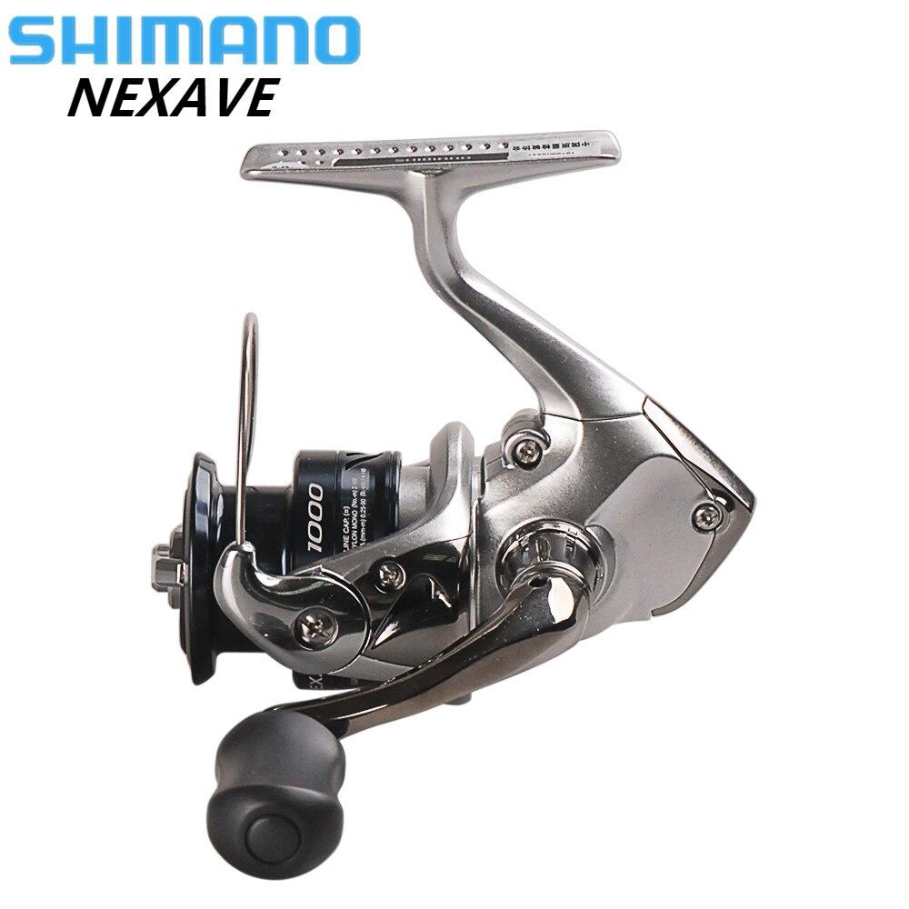 100% Original SHIMANO NEXAVE 1000 2500HG C3000HG 4000HG C5000HG Spinning Angeln Reel 3BB + 1 Salzwasser Carp Feeder Moulinet Peche