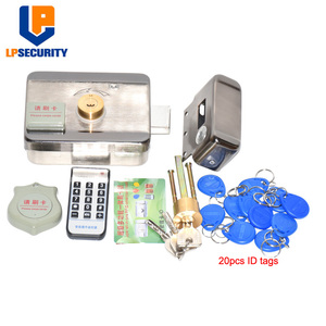 Image 3 - DC12V Door and gate Access Control system Electronic integrated RFID lock with 100pcs ID tags optional