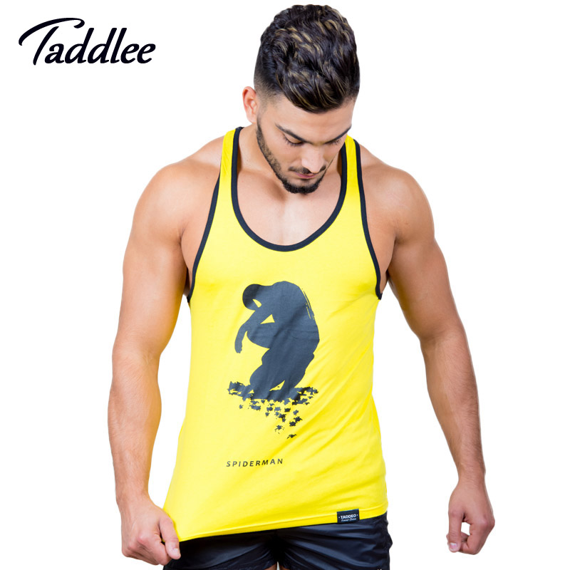 Aspiring Taddlee Brand 5-pack Mens Tank Tops T Shirt Sleeveless Undershirts Male Bodybuilding Cotton Gym Muscle Gasp Fitness Stringer Promote The Production Of Body Fluid And Saliva Vests