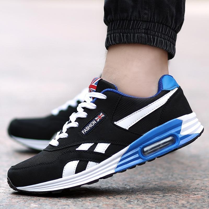 2018 New Men Sneakers Comfortable Men Walking Shoes Fashion  Men Casual Shoes  Summer Outdoor Men