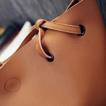 Soft Leather Women Bag Set Luxury Brand 2018 Fashion Designer Female Shoulder Bags Big Casual Bags Set Handbag High Quality