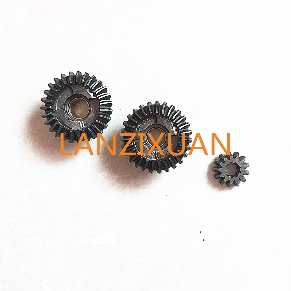 Free shipping parts for Yamaha Parsun Pioneer Hidea 2 stroke 4hp 5hp 6HP horsepower outboard motor gear set free shipping hangkai 2 stroke 4 hp outboard engines crankshaft