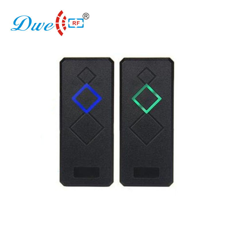 купить DWE CC RF Security & Protection access control 125khz em id wiegand 26 wiegand 34 rfid reader 12V онлайн