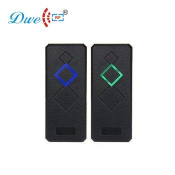 DWE CC RF Security & Protection access control 125khz em id wiegand 26 wiegand 34 rfid reader 12V dwe cc rf touch screen wiegand 34 rfid reader access control with keypad