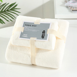Image 3 - Coral Velvet Absorbent Bath Towels for Adults Face Towel Bath Towel Set Soft Comfortable Bathroom Towel Set 70*140 11 Colors